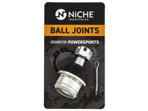 NICHE Ball Joint for Honda 51355-HP5-601 Can-Am 706200653 Yamaha 37S-23549-01-00 Grizzly 350 YFM350 FourTrax Upper Lower