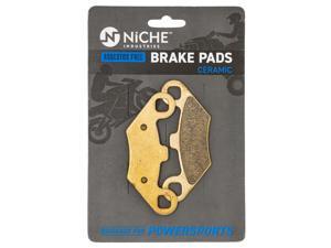 NICHE Ceramic Front Rear Brake Pad Set for Polaris 2202412 2200465 2201398 2203452