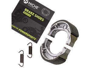 NICHE Brake Shoe for Suzuki DRZ125L DRZ125 Quadsport Z50 Z90 54401-43840 Rear
