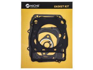 NICHE Cylinder Head and Base Gasket Kit Set Combo For 1996-2014 Polaris Sportsman Scrambler Worker 500 3089966 308537