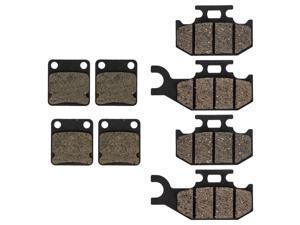NICHE Brake Pad Kit for Polaris ACE 150 1912970 1912971 Complete Organic