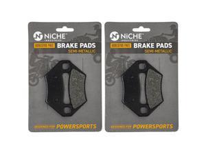 NICHE Front Rear Brake Pad Set for Arctic Cat 1436-420 1436-811 Semi-Metallic 2 Pack