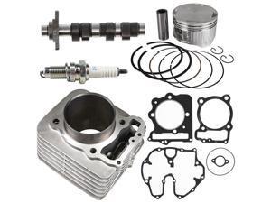NICHE Cylinder Piston Gasket Camshaft Top End Kit for Honda 1996-2014 TRX400 XR400R 12100-KCY-670