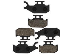 NICHE Brake Pad Kit for Can-Am Commander 705600398 705601147 705600350 705600014 Complete Organic