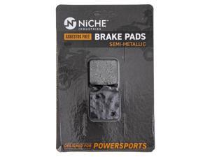 NICHE Brake Pad Set for Triumph Speed Triple BMW S1000RR S1000R T2025247 34117714800 Front Semi-Metallic