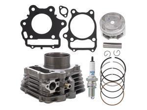 NICHE 74mm 300cc Cylinder Piston Gasket Kit for Honda Sportrax 300 TRX300EX TRX300X 12100-HM3-L00