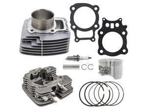 NICHE Cylinder Piston Gasket Cylinder Head Kit for Honda Rancher TRX350 2003-2006 12100-HN5-670