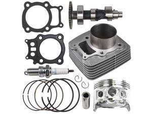 NICHE Cylinder Piston Camshaft Gasket Top End Kit For Honda 2000-2006 Rancher TRX350 12100-HN5-670