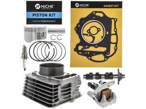 NICHE 85mm 397cc Cylinder Piston Gasket Head Camshaft Kit For Honda Sportrax TRX400 EX X XR400R 1996-2014