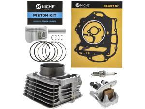 NICHE 85mm 397cc Cylinder Piston Gasket Top End Kit For Honda Sportrax TRX400EX TRX400X XR400R 1996-2014