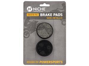 NICHE Brake Pad Set for Yamaha Exciter VMAX Ovation Venture XL 89J-25811-00-00 Rear Semi-Metallic