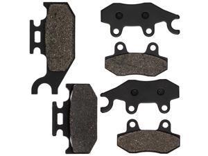 NICHE Brake Pad Kit for Yamaha 700 700R Rhino 450 660 1S3-W0045-10-00 1S3-W0045-00-00 Complete Semi-Metallic