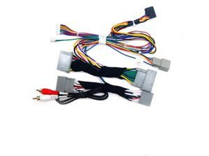 16 PIN Car Android Radio Wiring Harness with Canbus For Honda Accord 8th