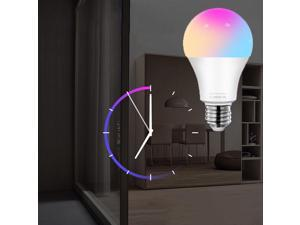 12W Multicolor 2800k-6500k Dimmable WiFi LED Bulb, Compatible with/For Alexa Google Home Siri