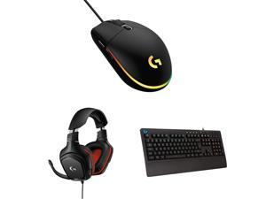 Logitech G Esports Starter Kit- Gaming Bundle Pack of G102 lightsync Mouse (Black)+ G213 Keyboard + G331 Headset