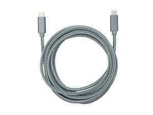 USB-C to USB-C Braided Cable - 9 ft