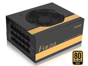 SAMA 1000W ATX 80 Plus Gold Power Supply, Fully Modular, Dual 8PIN CPU Interface, Single +12V Rail, Hydraulic Bearing Silent Fan, Over Power Protection, Support 30 Series VGA