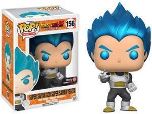 Funko Pop Dragonball Z Super Saiyan God Metallic Blue Vegeta Exclusive VInyl FIgure #156
