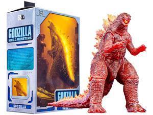 "NECA - Godzilla 12"" Head to Tail Action Figure Model  Burning Godzilla King of The Monsters (2019)"