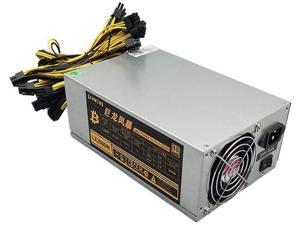 2000W Power Supply Antminer PSU ATX Computer Power Supply for Mining Machine Support 8 Pieces GPU Graphics Card