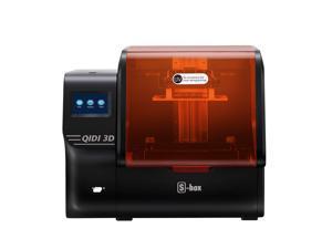 """QIDI TECH S-Box Resin 3D Printer UV LCD Printer, 10.1 inch 2K LCD, 4.3 inch Touch Screen, 215x130x200mm/8.46""""x5.11""""x7.87"""""""