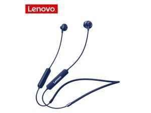 Wireless Earphones Bluetooth 5.0 Lenovo Bluetooth Headphones SH1 Noise Reduction / IPX5 Waterproof Earbuds / Magnetic Neckband Running Sports Headset (Blue)