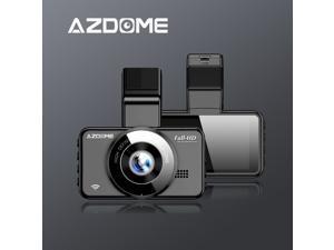 AZDOME M17 WiFi Dash Cam 1080P FHD DVR Car Driving Recorder 3 Inch IPS Screen Dashboard Camera 150° Wide Angle, G-Sensor, Loop Recording, Super Night Vision