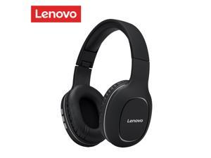 Lenovo HD300 Bluetooth Wireless Headphones Foldable Over Ear Headset HIFI 3D Deep Bass Noise Reduction Earphones with Microphone Gaming Headset For Mobile PC