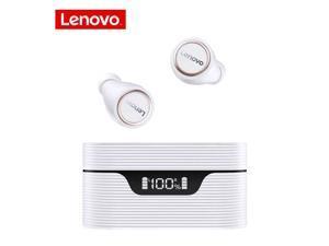 Lenovo LP12 TWS In-Ear Earphones True Wireless Earbuds DSP Noise Canceling Waterproof Headset Bluetooth 5.0 Headphones (White)