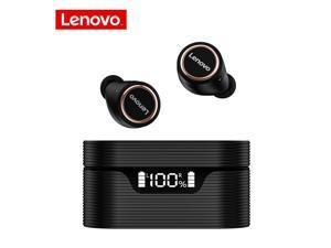 Lenovo LP12 TWS In-Ear Earphones True Wireless Earbuds DSP Noise Canceling Waterproof Headset Bluetooth 5.0 Headphones (Black)