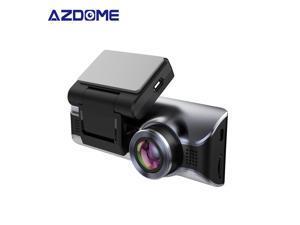 AZDOME M550 Dash Cam 3 Channel, Front Inside Rear 1440P+1080P+1080P Car Dashboard Camera Recorder 3.19'' Screen Night Vision Car Camera Recorders Dash Cam