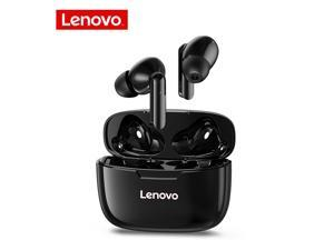 Lenovo XT90 TWS Earbuds Bluetooth 5.0 True Wireless Headphones Touch Control Sweatproof Sport Headset In-ear Earphones with Mic 300mAh Charging Case (Black)