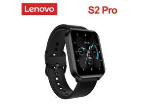 Lenovo S2 Pro Smart Watch 1.69 Inch HD Screen Waterproof Fitness Heart Rate Monitoring Fashion Sport Smart Bracelet Wristband