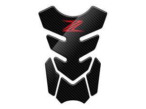 Recrist 3D Carbon Look Motorcycle Tank Pad Protector Decal Case For Kawasaki Z250 Z300 Z650 Z750 Z800 Z1000 Z1000SX