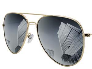 Aviator Sunglasses for men and women Classic Polarized sunglasses anti-glare Mirrored UV400 Lens Metal Frame Driving Outdoor