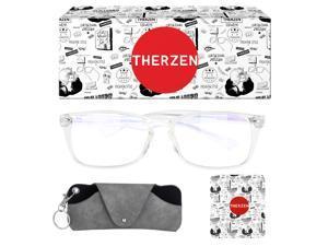 Blue Light Blocking Glasses for Women Men, UV Filter Computer Glasses, Oversized Non Prescription Gaming Glasses, Blue Light Blockers Eyewear Small Face,Black