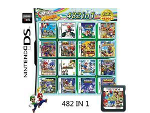 482 in 1 Game Cartridge,Nintendo DS Games Card,Compatible with Super Combo,NDSL,NDSi,NDSi LL/XL,3DS,3DSLL/XL,New 3DS,New 3DS LL/XL,2DS,New 2DS LL/XL