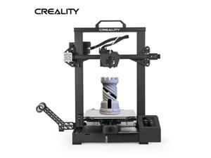 Creality 3D Printer CR 6 SE Leveling-Free, Silent Motherboard, Meanwell Power Supply, Tempered Glass Plate and Dual Z-axis 235 x 235 x 250 mm for Hobbyists Designers and Home Users