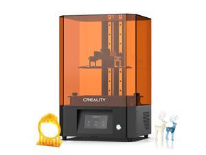 Original Creality LD-006 LCD Resin 3D Printer UV Photocuring 192x120x250mm Printing Size 4K Monochrome Screen Matrix UV Source Easy Leveling with 4.3 Inch Touchscreen Built-in Air Filter
