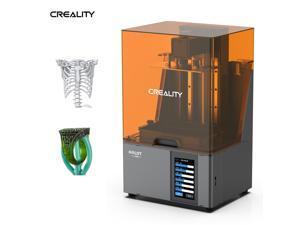 Original Creality HALOT-SKY 3D Printer UV Photocuring LCD Resin 3D Printer with 8.9 Inch 4K Monochrome LCD AI Brain High Sensitivity Slicing WiFi-APP Control OTA Online Upgrade Build Volume