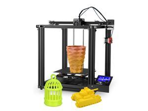 Creality 3D High Precision Ender-5 Pro 3D Printer DIY Kit with Upgrade Silent Motherboard PTFE Tubing Metal Extruder 220 x 220 x 300mm Build Volume Resume Printing with 8GB TF Card