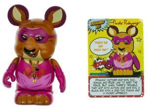 """Zooper Kangaroo - Disney Vinylmation ~3"""" Zooper Heroes Series Designer Figure"""