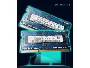 4GB(2X2GB) Hynix PC3L-1600Hmz SODIMM Memory DDR4L-12800S 1.35V HMT325S6CFR8A-PB