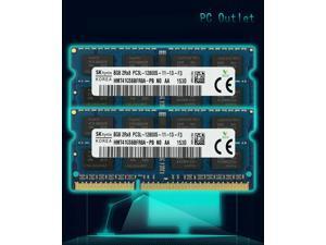 SK Hynix HMT41GS6BFR8A-PB 16(2X8GB) PC3L-12800 Laptop SODIMM DDR3L 1600 MHz 204pin Memory RAM 1.35V