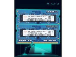 4GB(2X2GB) Hynix PC3-1333Hmz SODIMM Memory DDR4L-10600S 1.5V HMT325S6BFR8C-H9