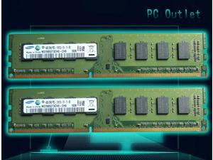 8GB(2X4GB) Samsung DDR3 1333MHz Desktop Memory Computer PC PC3-10600U M378B5273CH0-CH9