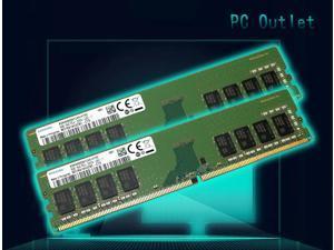 M378A1K43CB2-CTD Samsung OEM 16GB (2X8GB) 1Rx8 PC4-2666V UDIMM DDR4 RAM Memory Module