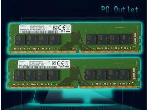 64GB(2X32GB) Samsung DDR4 UDIMM PC4-21300, 2666MHz 288 PIN DIMM 1.2V CL 19 desktop ram memory M378A4G43MB1-CTD