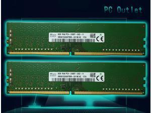 Hynix HMA81GU6AFR8N-UH 16GB (2X8GB) DDR4 2400MHz Desktop PC RAM - PC4-19200 PC4-2400T - Memory 288pin DIMM