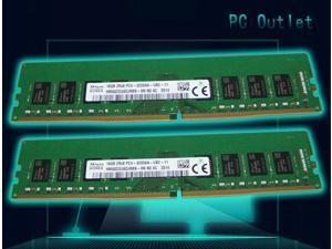 SK Hynix HMA82GU6DJR8N-XN 32GB(2X16GB) DDR4 3200 2Rx8 PC4-3200AA UB2 Desktop PC Memory